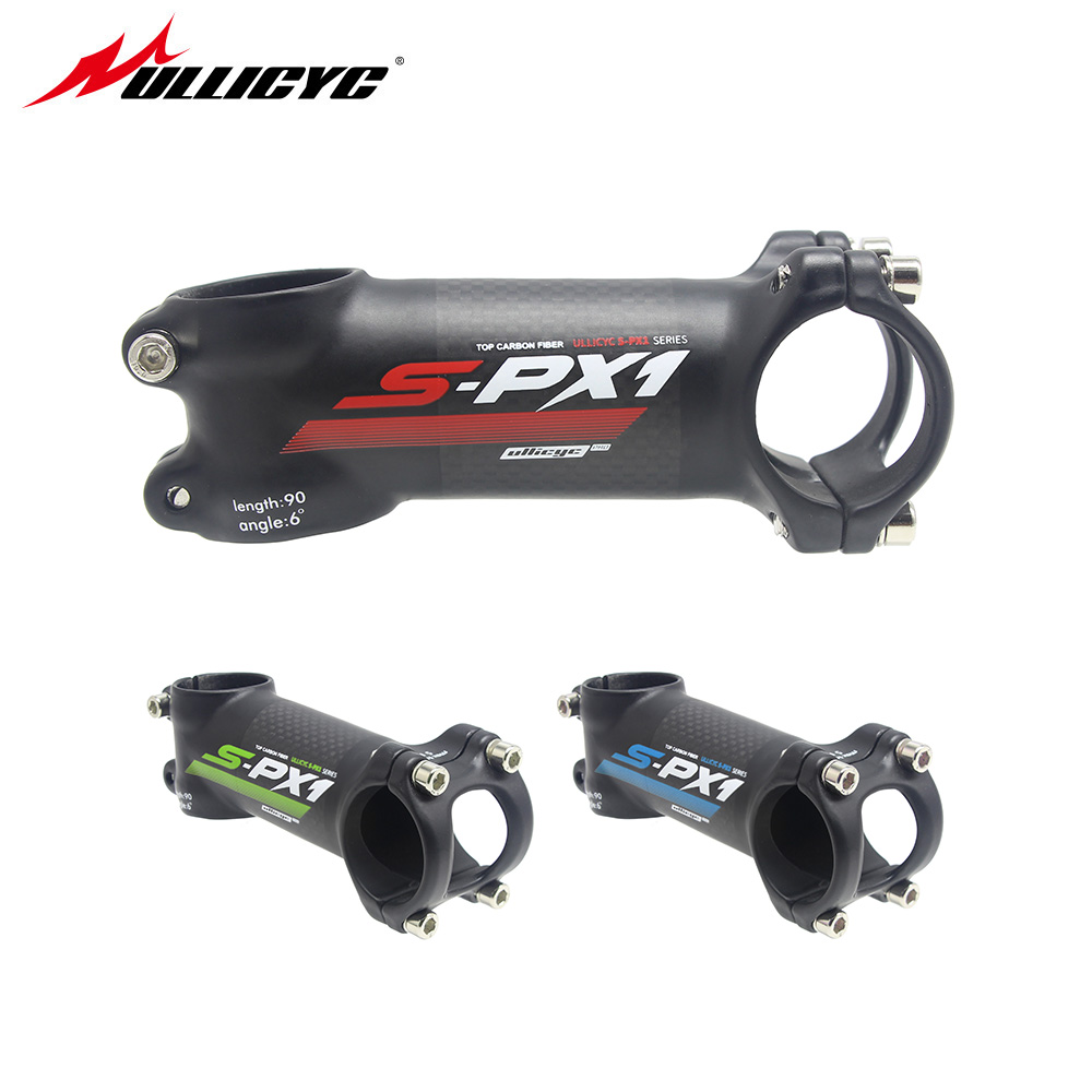 MTB Road Bike Bicycle Stem 7 Degree 31.8mm*60//70//80//90//100//110mm Carbon Stem