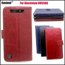 Casteel R64 Series high quality PU skin leather case For Blackview BV5500 Case Cover Shield