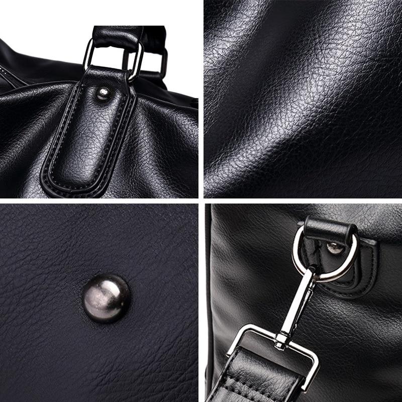homens de luxo da marca Bolso Hombre Men's Travel Bag : Fashion Bussiness Trip Men Handbag Sacoche Homme