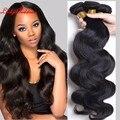 queen weave beauty ltd virgin hair brazilian body wave 4 Bundles brazilian hair weave bundles wet and wavy virgin brazilian hair