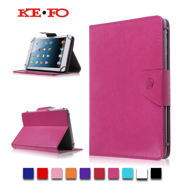 "7"" PU Leather Case Stand Cover For Acer Iconia One B1-760HD For Irbis TX18/TX17 7.0 inch Universal Tablet Accessories S2C43D"