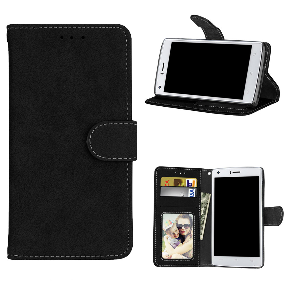 Wallet Pu Leather Flip Coque Cover 5.0For Doogee X5 Max Pro Case For Doogee X5 Max Pro Phone Back Coque Cover Case