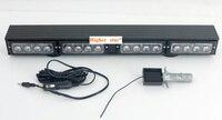 Higher star rechargeable 16*3W Led Car/truck Trailer lamp,strobe light,warning lights,emergency light for many car,waterproof