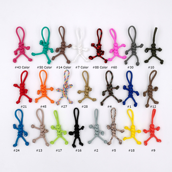Paracord Buddy Keychain Ultra Portable Novelty Handmade Carabiner Accessories 550 Parachute Cord for Scooters Cars Key Holder