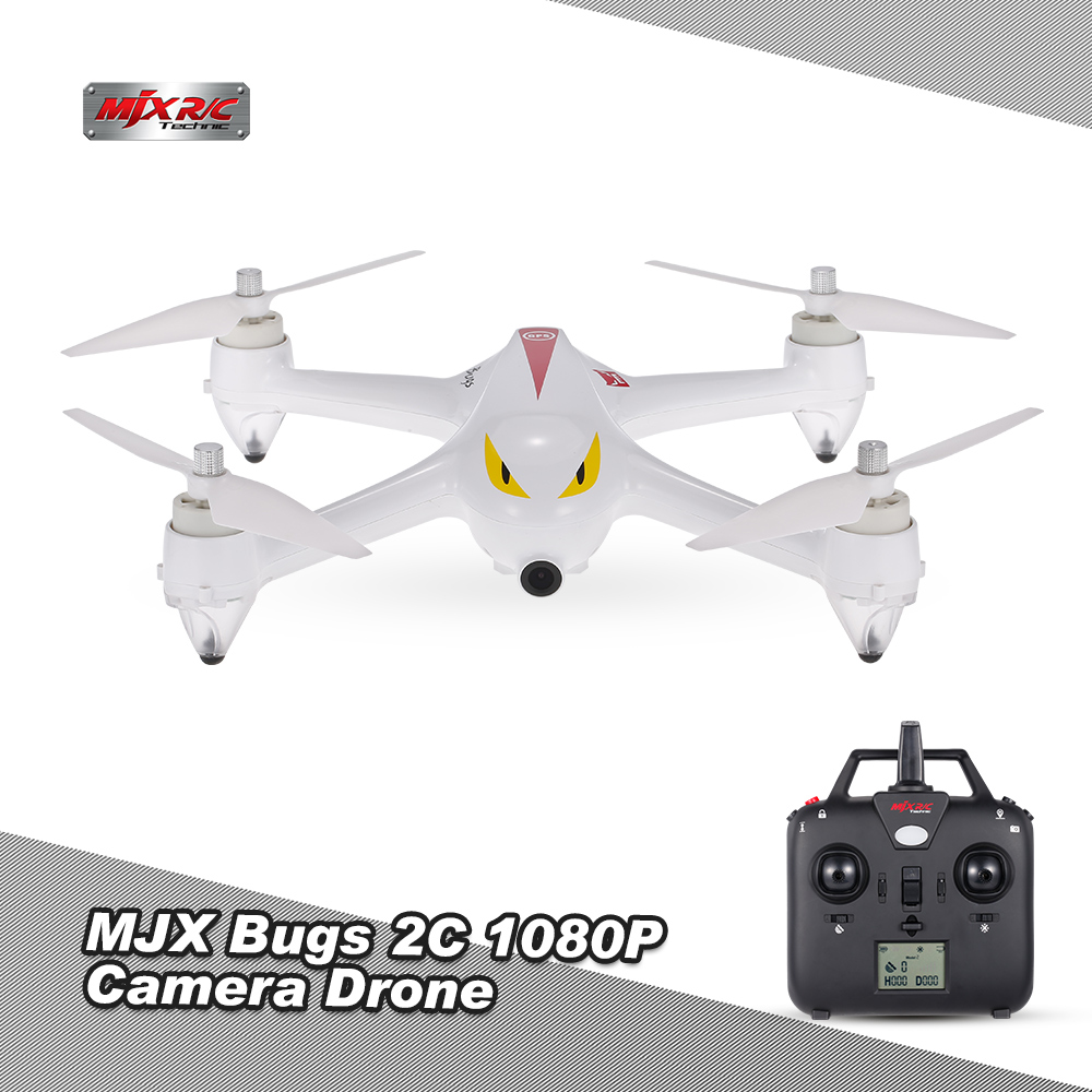 MJX Bugs 2C GPS RC Drone with Camera 1080P HD 2.4G 4CH 6-Axis Gyro Brushless Quadcopter Selfie Drone Quad Height Hold (1)