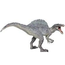 Моделирование динозавра статическая модель игрушки спинный Дракон тираннозавр сплошной динозавр животная модель Реалистичная достаринная игрушка динозавра