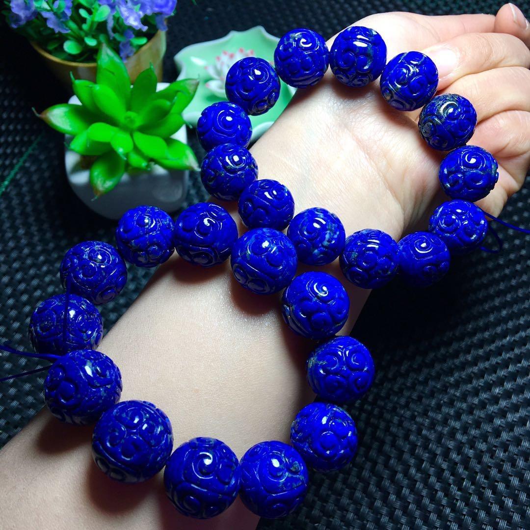 100% 16.5-15.5mm Natural Royal Blue Lapis Rumpkin Bracelets Lazuli Gemstone Crystal Stretch Round Bead Bracelet Drop Shipping100% 16.5-15.5mm Natural Royal Blue Lapis Rumpkin Bracelets Lazuli Gemstone Crystal Stretch Round Bead Bracelet Drop Shipping