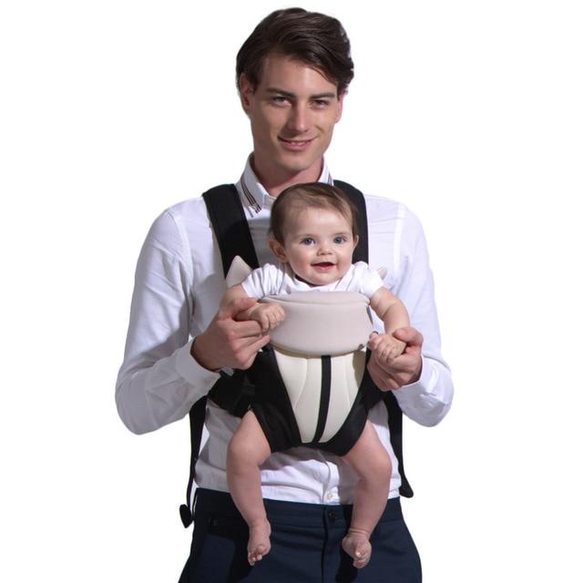 3-18 Месяца Кенгуру Три Позы Младенцев Мандука Эргономичный Младенческой Wrap Удобная Малышей Слинг Рюкзак для Детей