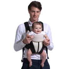 4-18 Months Baby Carrier Three Postures Babies Manduca Ergonomic Infant Wrap Comfortable Toddler Sling Backpack for Kids