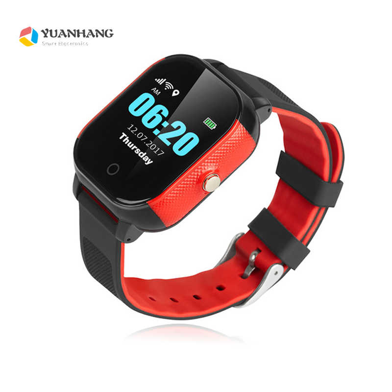 IP67 Waterproof Smart GPS WIFI Tracker Locator Touch Screen Kid Child SOS Call Remote Monitor Alarm Watch Wristwatch IOS Android