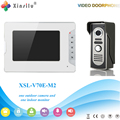 Xinsilu V70E-M2 Doorbell Camera With 4.3inch Door Viewer Indoor Monitor Out Door Phone Bell Video Photo IR Voice Unlock