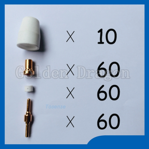 Hot sales High Quality Plasma Cutter Cutting Consumables spare Welding Torch TIPS Great promotions Fit PT31 LG40 Kit  цены