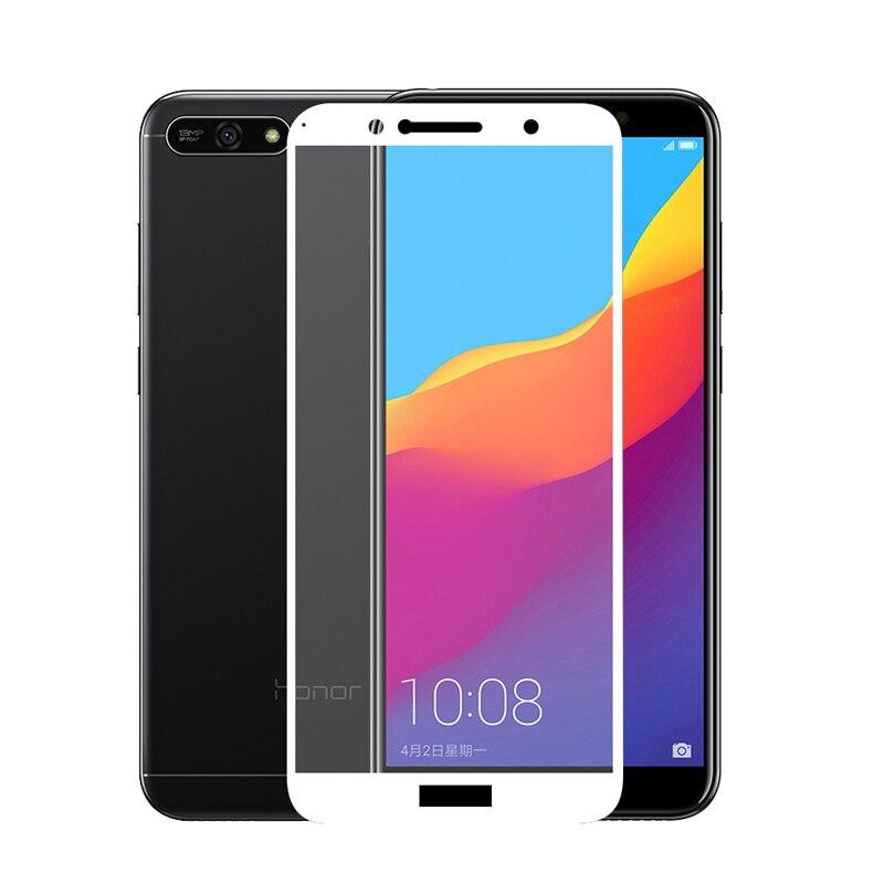 Tempered Glass For Huawei Y6 Prime 2018 Screen Protector Full Cover  Protective Glass For Huawei Y6 Prime 2018 ATU-L31 ATU-L42