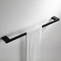 AUSWIND Antique European black oiled bronze towel bar Square base 304 stainless steel wall mount bathroom accessories