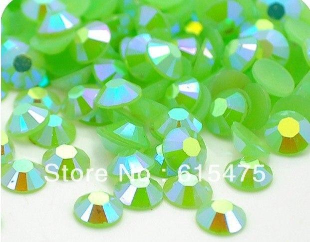 5mm Jelly Green AB Color SS20 crystal Resin rhinestones flatback,Nail Art Rhinestones,30,000pcs/bag часы nixon corporal ss matte black industrial green