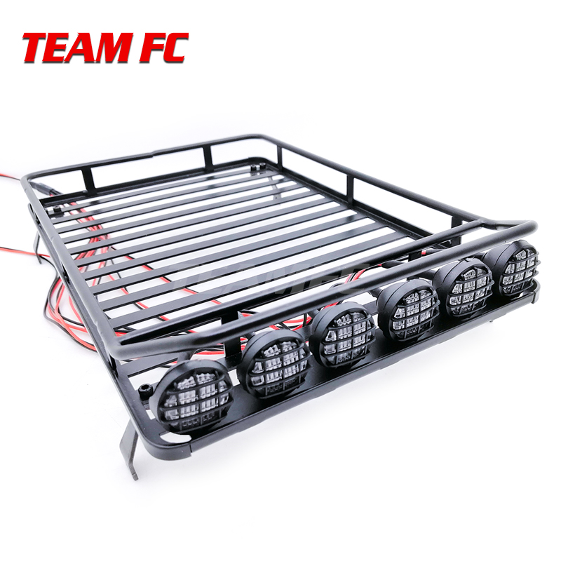 RC Crawler Accessory Luggage Roof Rack Net Climbing Car Model Parts For D90 For Axial SCX10 RC Cars Accessories Xmas Gifts S317