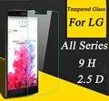 Protector de Pantalla 2.5D 9 H Vidrio Templado Para El LG G Flex2 G2 G2mini G3mini Stylus G3 G4 G3S G4mini G4C Caso de la Cubierta Protectora película