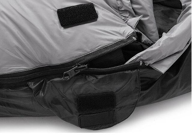 Jungle King Winter explosion ultra-light adult outdoor 800g down sleeping bag thickening can be stitching camping -25 degrees 4
