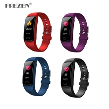 FREZEN Y9 Smart Band IP67 waterproof Heart Rate Fitness bracelet with Blood Pressure oxygen Monitor pedometer Activity Tracker