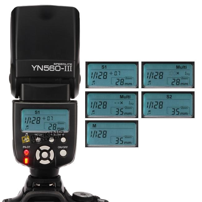 Yongnuo YN-560III YN560 III wireless Flash Speedlite Speedlight for NIKON d3300 d5300 d90 d3100 d5100 s3300 d5000 вспышка для фотоаппарата nikon speedlight sb 5000 sb 5000