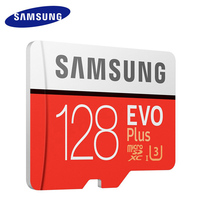 Original SAMSUNG Micro SD Card Memory Card EVO EVO Plus 128GB Class10 TF Card C10 80MB