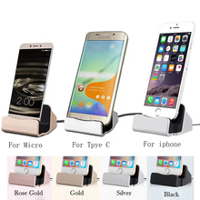 USB Pedestal Data Charger Dock Stand Station Charging For iphone 8 7 XR XS Desktop Cradle For Samsung Xiaomi Docking ladestation temei charging docking station for google nexus 7 ii black
