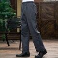 Men's Pants Straight Legged Pants Zebra Pants chef chef pants pants with adjustable  waist trousers