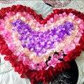2016 Nova Atacado 1000 pçs/lote Patal Decorações De Casamento Atificial Flores Poliéster Casamento Pétalas de Rosa Romântico Flores