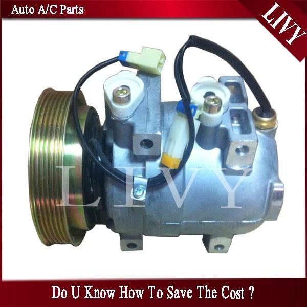 Автомобильный Компрессор переменного тока для Ssangyong Actyon Kyron 6641300015 6641300115 6652300511