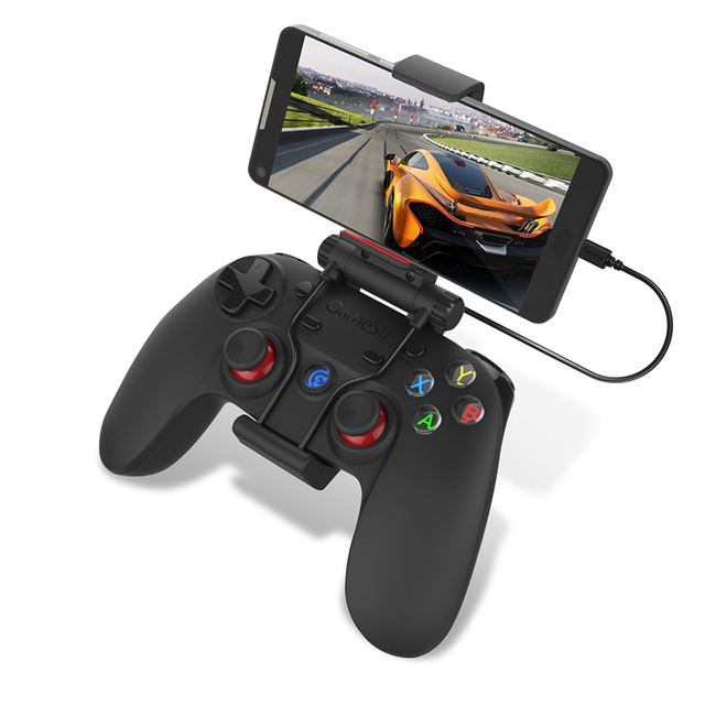 Gamesir G3w USB Wired Gamepad Controller Dual Vibration Controller For Android Smart phone for TV Box For Windows PC With Holder