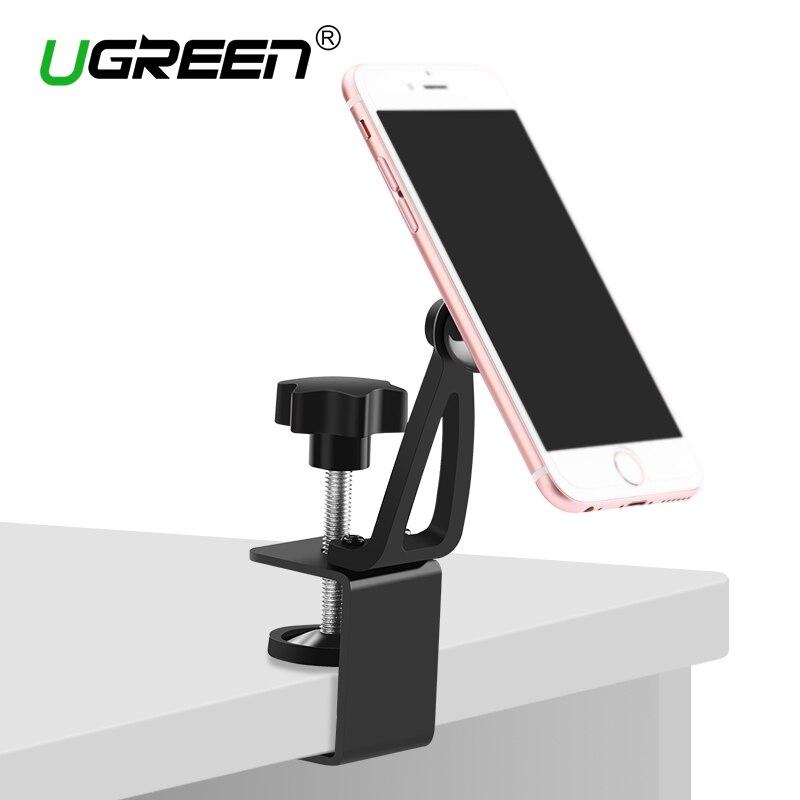 Ugreen Universel Aimant Téléphone Titulaire 360 Dgreen Rotation Magnétique Téléphone De Bureau Stand Mount pour iPhone 7 6 Plus/5S/5 Samsung Tablet