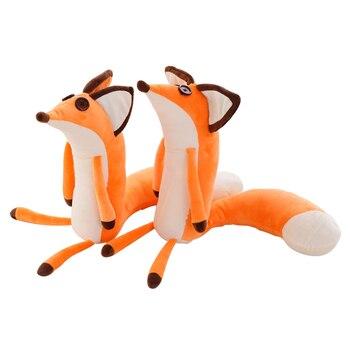 1 шт. 60 см Цена И Лиса плюшевые куклы, мягкие животные Плюшевые Развивающие игрушки для малышей рождественские подарки