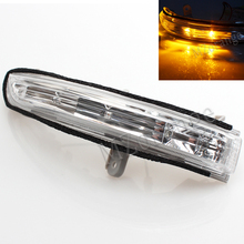 цена на MZORANGE Car LED Rear View Mirror Turn Signal Lights Side Indicator Lamp for Nissan Teana 2008-2012 Maxima Altima J32 2009-2013