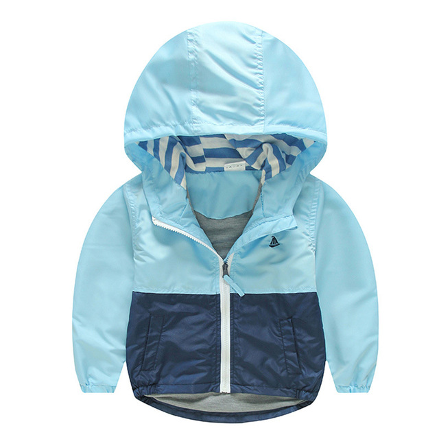 Kids Toddler Boy Jacket Coat Spring Autumn Hooded Windbreaker For Children Outerwear Costume Minnie Baby Clothes Blazer Clothing