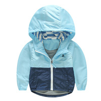 Kids Toddler Boy Jacket Coat Spring Autumn Hooded Windbreaker For Children Outerwear Costume Minnie Baby Clothes