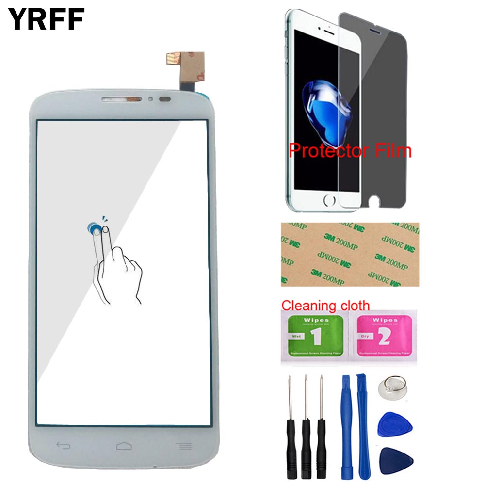Touch Screen Panel For Alcatel One Touch Pop C7 7041 OT-7041D 7041X OT7040D 7040E 7041D Touch Screen Digitizer Protector Film