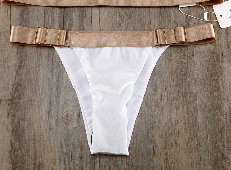 ALI shop ...  ... 32834293875 ... 5 ... Biqueno`s Secret White Velvet Swimwear Women Bikini 2019 Hot Bandage Brazilian Biquinis Set Sexy Low Waist Bathing Suit Swimsuit ...