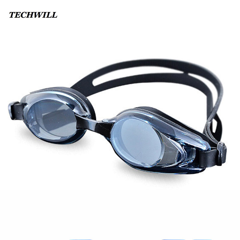 Adult Swimming Goggles Waterproof Swimming Driving Trainning Equipment Multi-colors Flat Light Goggles Swimming Pool Accessories