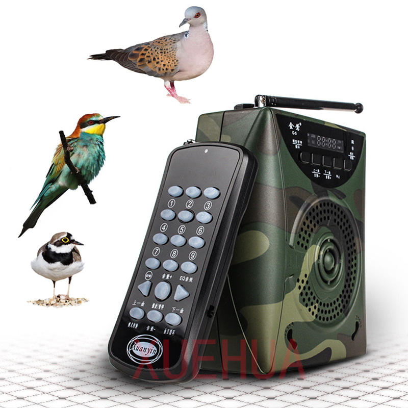 Hot 800 Bird sound Camouflage Hunting Decoy Speaker Wireless Remote Built in Battery Bird caller hunting electronic decoy Player outdoor hunting decoy speaker radiator duck call mp3 sounds hunting bird caller hunting bird speaker with remote control