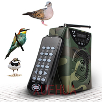 Hot 800 Bird sound Camouflage Hunting Decoy Speaker Wireless Remote Built in Battery Bird caller hunting electronic decoy Player