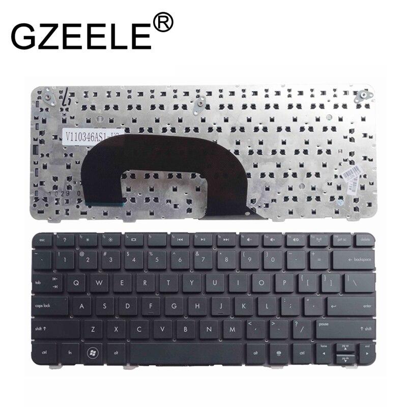 GZEELE NEW Black US Keyboard For HP Pavilion Dm1-3000 Dm1-3100 Dm1-3200 DM1-4000 Mini230-3000 Without Frame English Version