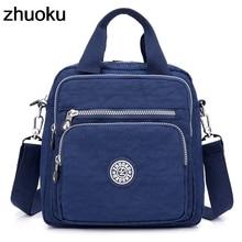 Women Messenger Bags Light Travel Handbag Waterproof Nylon Double Shoulder Bags Casual Quality Crossbody bag Lady Flap Tote недорого
