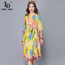 fb55257c3e342 Yellow Floral Dress Promotion-Shop for Promotional Yellow Floral ...