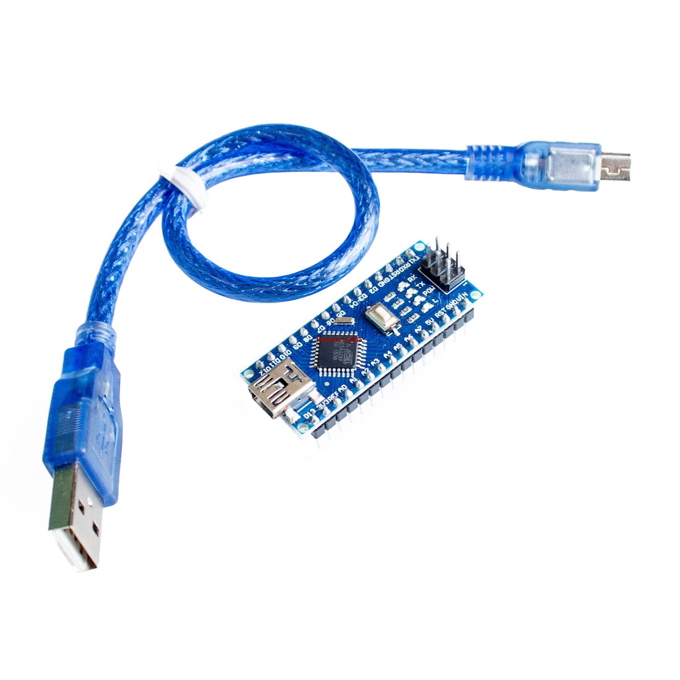 For arduino Nano 3.0 Atmel ATmega328 Mini-USB Board with USB Cable Free Shipping Замок