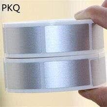 23x4 2mm/25x25mm כסף דבק לגרד מדבקות DIY קלטת תווית ידנית יד שרוט פס כרטיס סרט