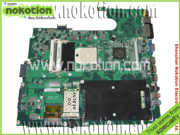 DA0ZY5MB6E0 Laptop Motherboard for Acer 7230 7530 AMD DDR2 Mainboard full tested free shipping