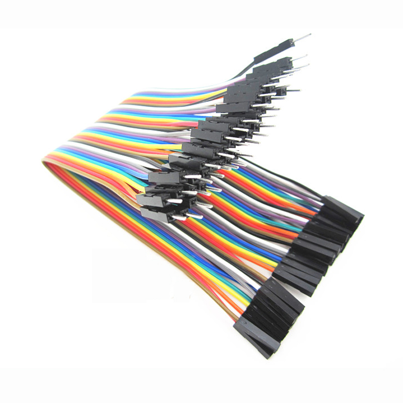40pcs dupont cable jumper wire dupont line male to female dupont line 20cm 1P 40P 40pcs dupont cable jumper wire dupont line female to female dupont line 20cm 1p 1p for arduino