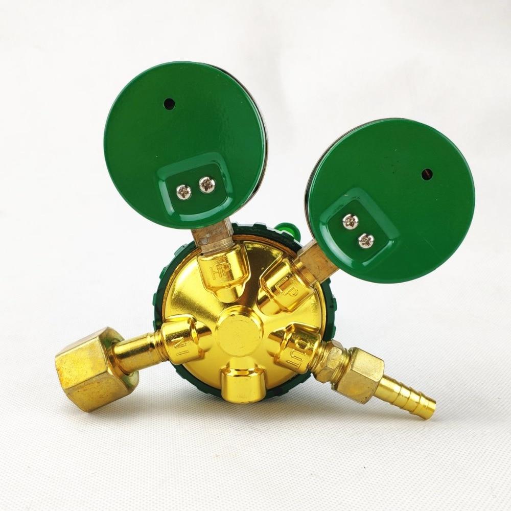 0-350kg  0-35MPa Reg cm2 Inlet 8 0-5000psi Oxygen Welding 0-2 Dual Gas cm2 to G5 Gauge Pressure 0-25kg 5MPa Cutting Regulator