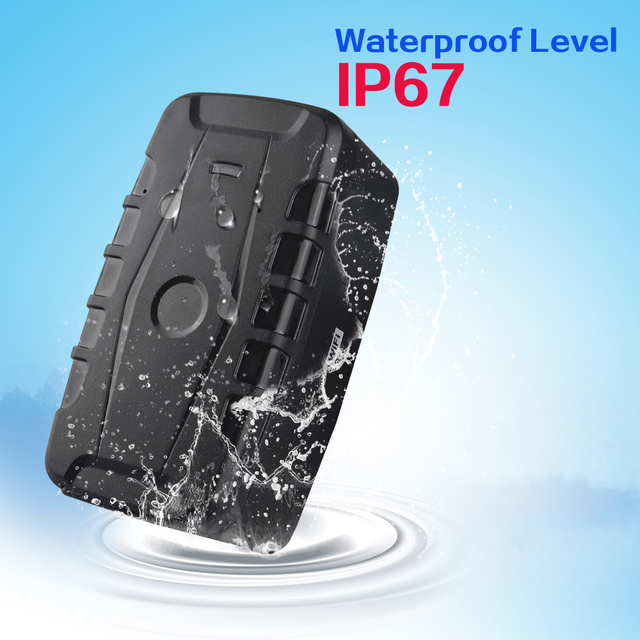 GPS Vehicle Tracker LK209C Waterproof Car Locator Remoting Monitoring Device 20000 mAh long battery life History trace checking