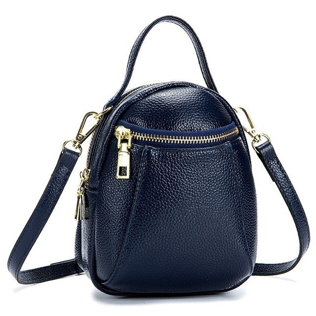 Cow Leather Ladies Women Genuine Leather Handbag Shoulder Bag High Quality Small Bags Mini Crossbody Bag